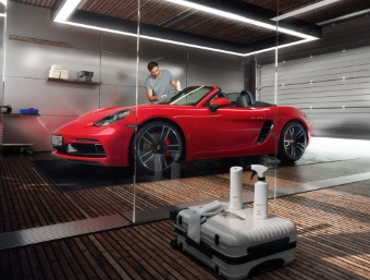 The Porsche Tequipment White Collection