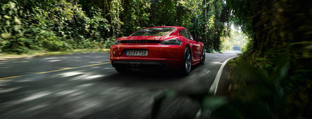 The new 718 Cayman GTS.