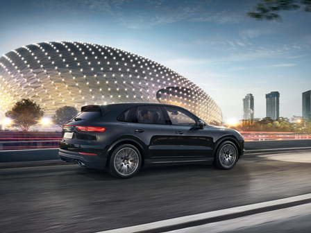 The new Cayenne..